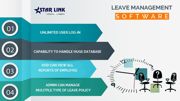 Leave Management Software | StarLink India