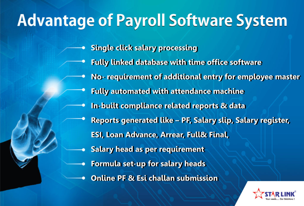 Payroll Software System from Star Link India