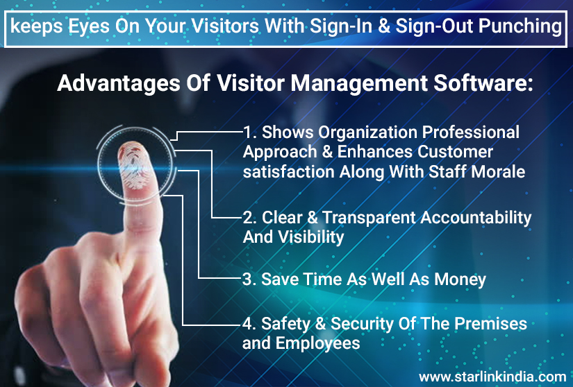 Advantages of Visitor Management System