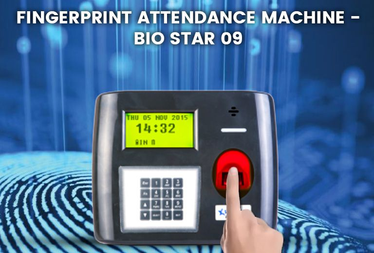 Fingerprint Attendance Machine – Bio Star 09