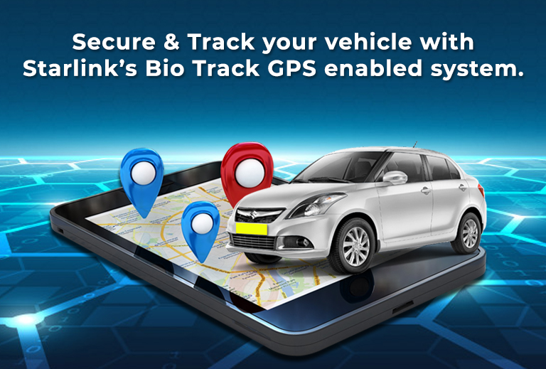 Secure & Track your vehicle with Starlink's Bio Track GPS enabled system.