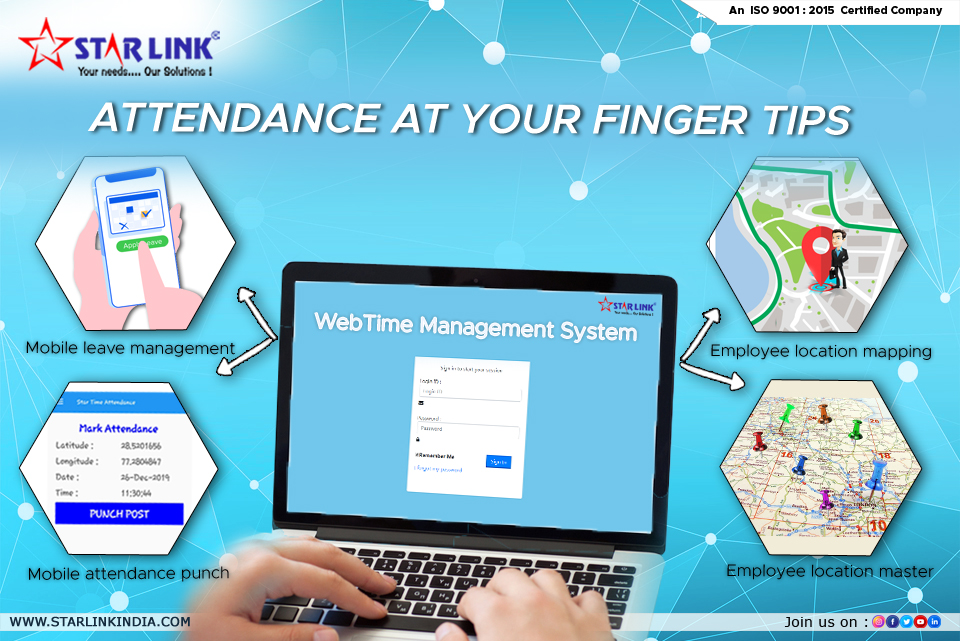 Attendance at your FINGER Tips