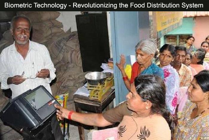 Biometric Technology - Revolutionizing the Food Distribution System