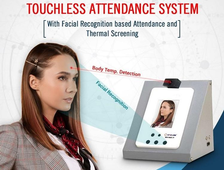 Contactless Body Temperature Detection with Facial Recognition System is the New Era of Biometrics