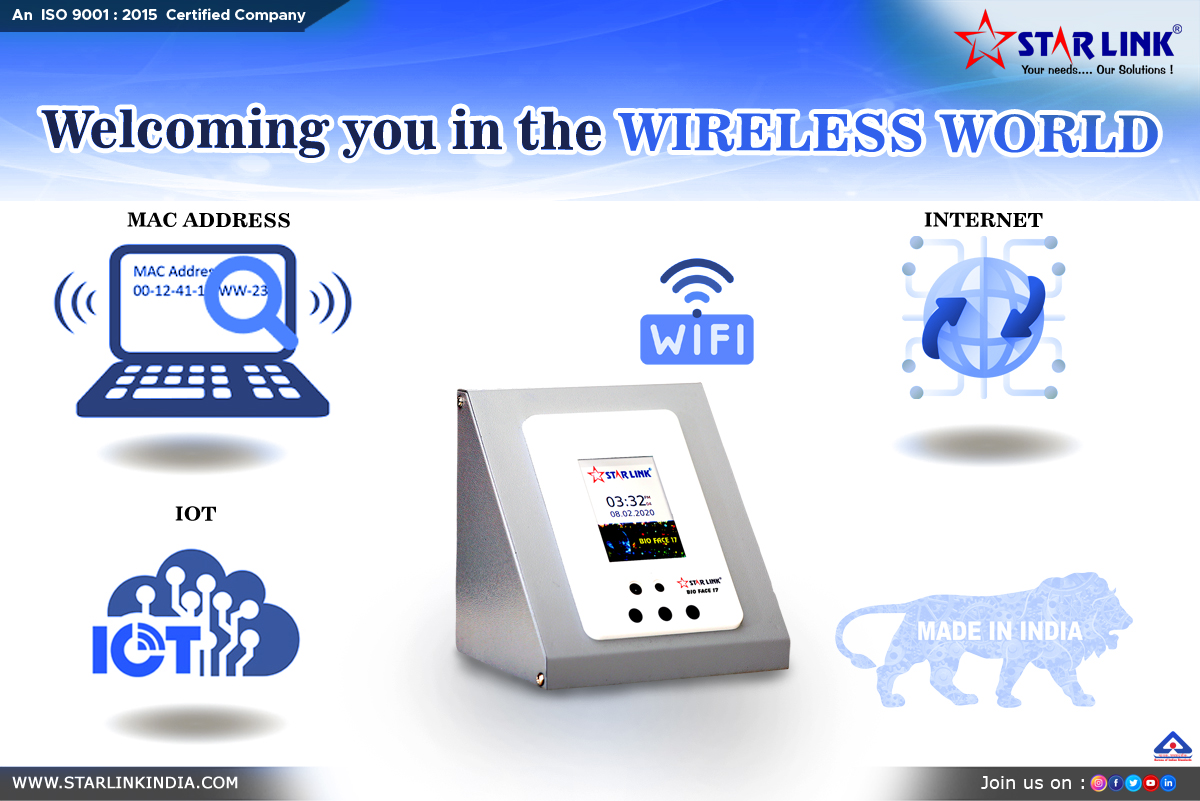 WELCOMING YOU IN THE WIRELESS WORLD