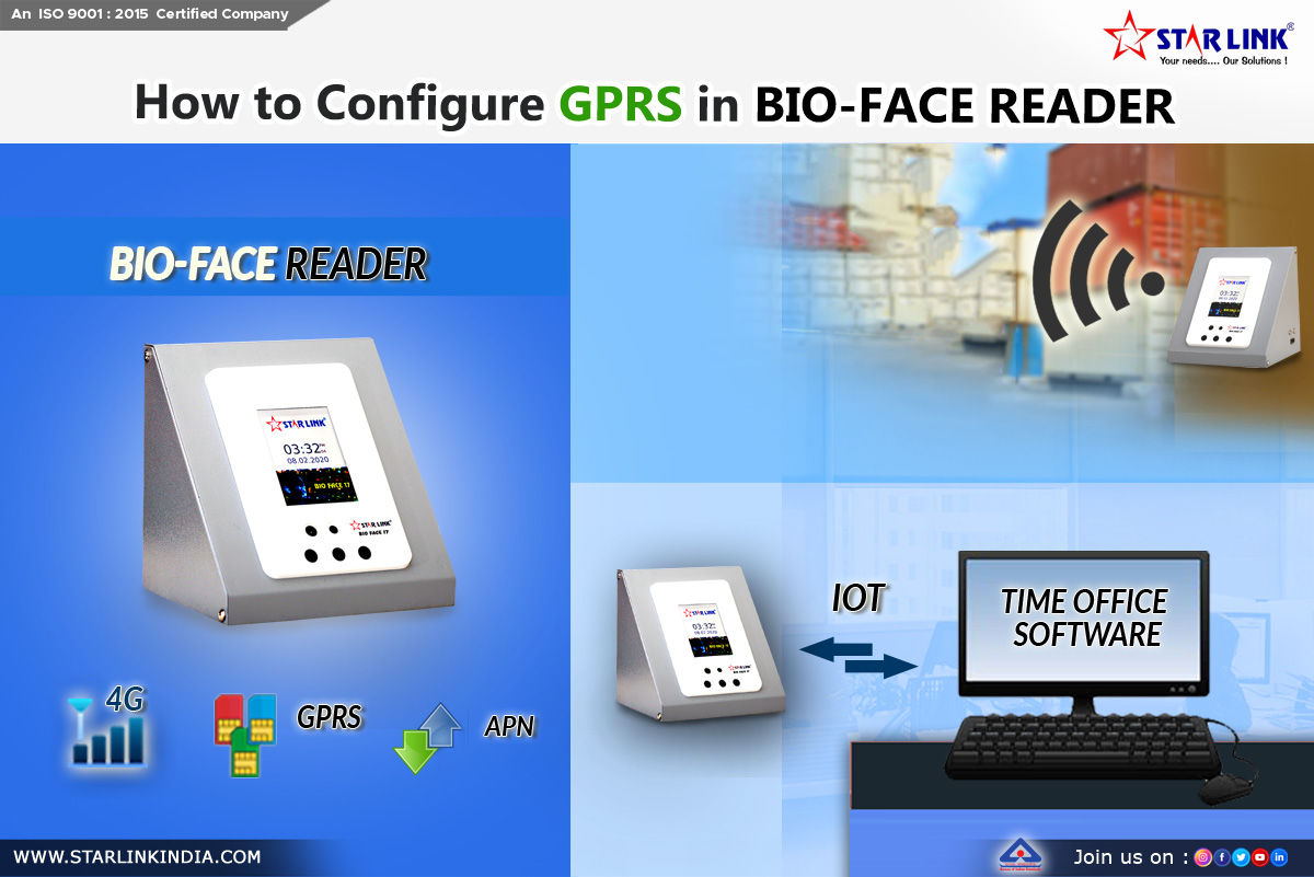 How to congfigure GPRS in bio-face reader