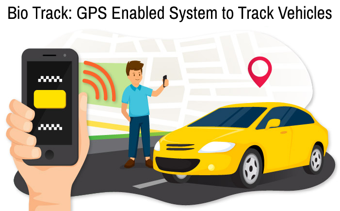 Bio Track GPS Enabled System to Track Vehicles