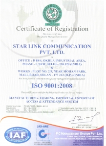 ISO Certificate copy